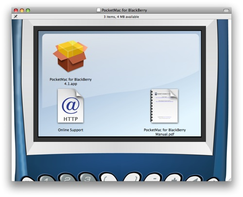 The PocketMac installer